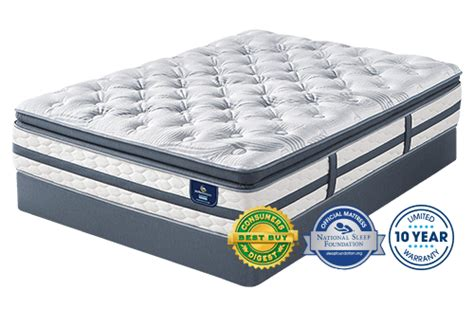 serta mattress reviews serta sleeper pillow top mattress review