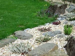 Kies Steine Garten : gestaltung mit kies steine steinbeet gestaltung 22 bilder und ideen fr pflanzen nowaday garden ~ Whattoseeinmadrid.com Haus und Dekorationen