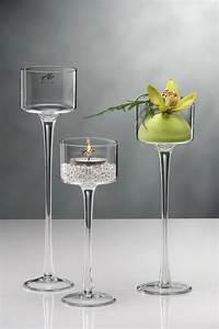 Kerzenständer Mit Glasaufsatz : kerzenst nder aus glas w rmed mmung der w nde malerei ~ Indierocktalk.com Haus und Dekorationen