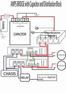 Wiring 2 Amps   1 Capacitor