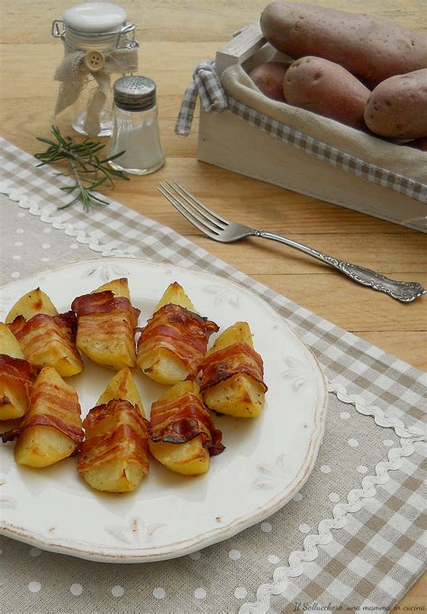 Patate al forno con pancetta affumicata, facili e golosissime