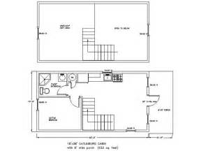 14 x 40 floor plans with loft 28 x 36 cabin plans http