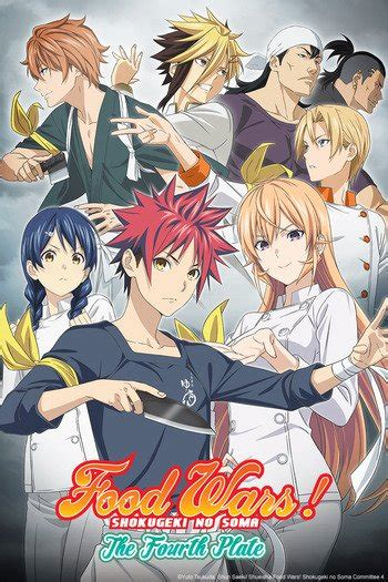 food wars  fourth plate anime planet