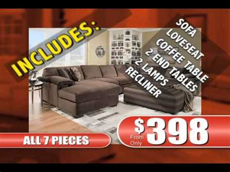 american freight furniture 7 piece living room commercial