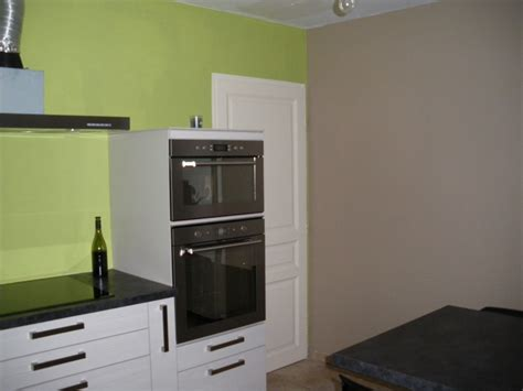 cuisine mur vert aide pour choix de couleur peinture des murs de cuisine
