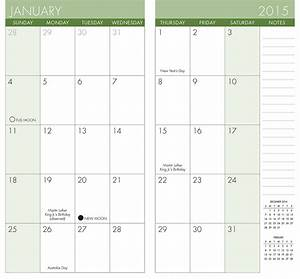 Pocket calendar template great printable calendars for Pocket schedule template