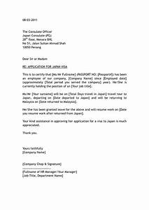 Sample Job Thank You Letter Covering Letter For China Business Visa Application Cover