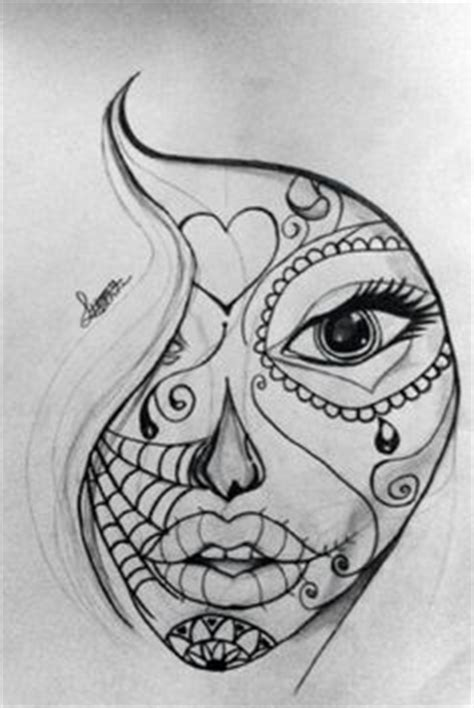 Create Tattoo Style Grunge Day Dead Girl Poster