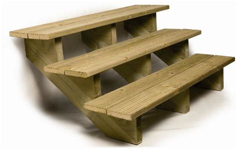 escalier d exterieur en bois deck linea amenabois