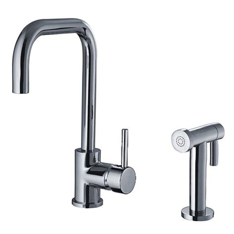 whitehaus kitchen faucets whitehaus collection jem collection single handle side
