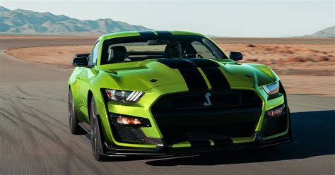 ford mustang shelby gt painted grabber lime  st