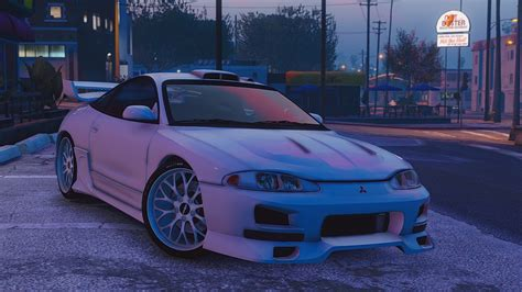 Mitsubishi Eclipse Mods by Mitsubishi Eclipse Gsx Add On Gta5 Mods