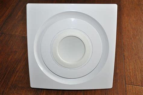 bathroom exhaust fan silent series  cfm led light