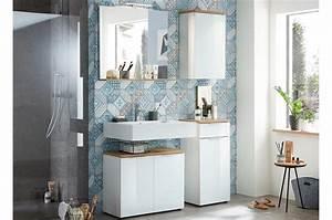 Meuble Salle De Bain Pas Cher But : meuble de salle de bain blanc pas cher pour salle de bain ~ Carolinahurricanesstore.com Idées de Décoration