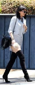 Kylie Jenner rocks thigh high heels heading to Kardashians ...