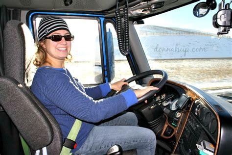 im  girl    drive  semi truck donnahupcom