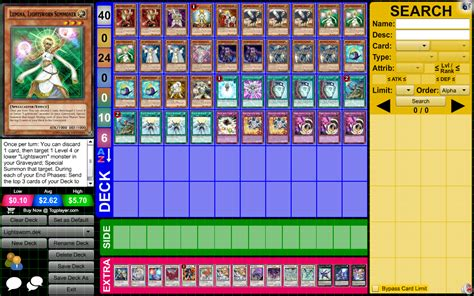 budget y deck lightsworns yu gi oh forum neoseeker forums