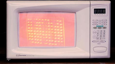 visualizing energy   microwave oven youtube