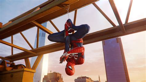 Spiderman Hanging Out Ps4 4k Superheroes Wallpapers, Spiderman Wallpapers, Spiderman Ps4