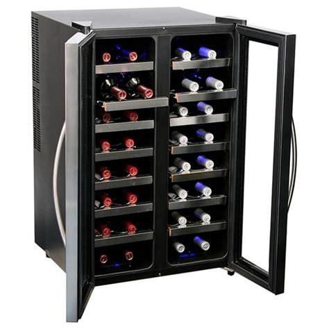 humidity wine cooler wc 321da whynter 32 bottle dual temperature zone