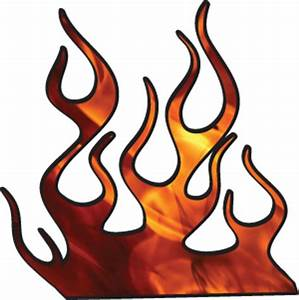 Race Car Flames Clipart (20+)