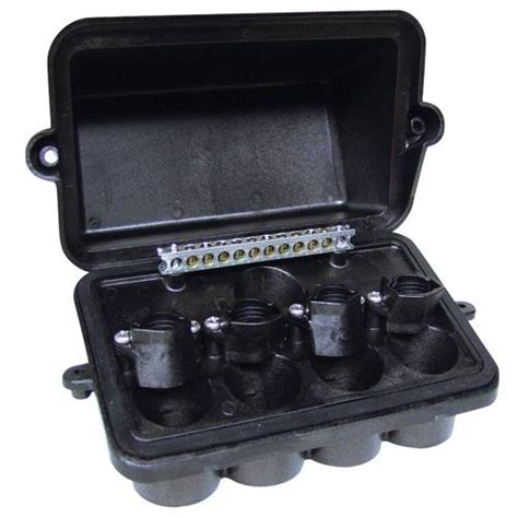 intermatic four fixture plastic junction box