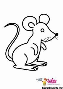Ausmalbilder Maus