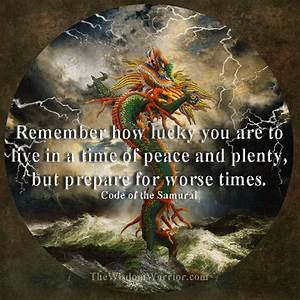 Warrior Prepare... Peace And Plenty Quotes