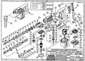 Hilti Te 22 Parts Diagram