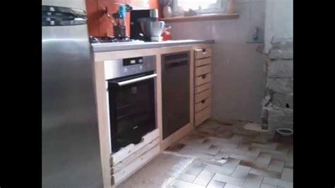 meubles de cuisine en bois de palettes de recup youtube