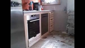 Meuble De Cuisine En Palette : meubles de cuisine en bois de palettes de recup youtube ~ Dode.kayakingforconservation.com Idées de Décoration