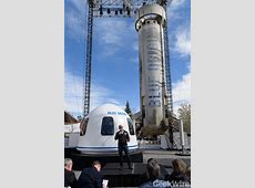 Blue Origin's president points out upgrades on New Shepard