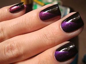 Makeup beauty and health fitness awesome purple nail