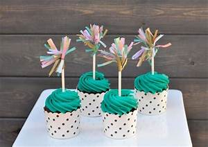 10 Diy Cupcake Topper For Special Occasions