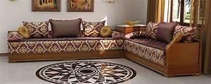 salon marocain velour rouge With tapis de gym avec surmatelas pour canape marocain