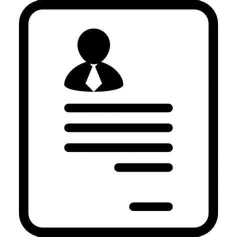 15016 resume icon white perfil profissional imagem 205 cones gratuitos