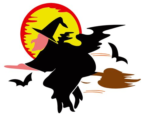 onlinelabels clip art witch  harvest moon