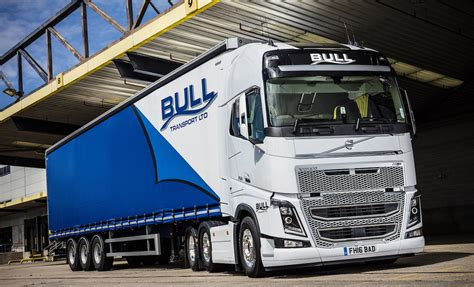 volvo transport truck more in store as bull transport s volvo fh16 750 hits the