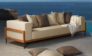 Stoffe Für Den Aussenbereich : 3 sitzer sofa f r den au enbereich idfdesign ~ Orissabook.com Haus und Dekorationen