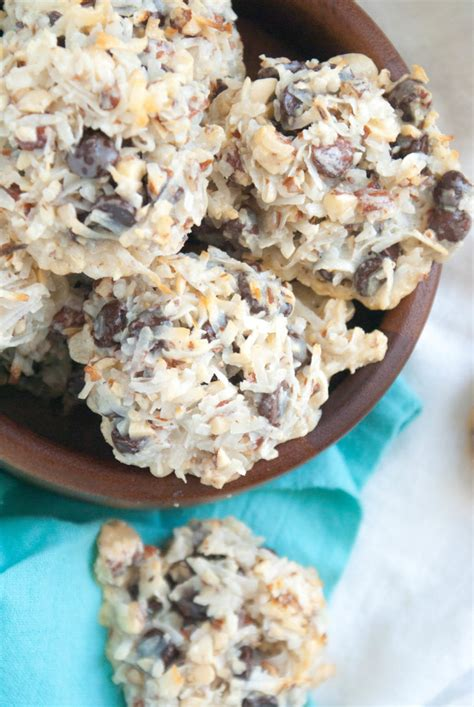 Easy cookie recipes cookies recipes chocolate chip holiday baking sugar cookies recipe cookies recipes christmas cookie recipes cake mix cookie recipes yummy cookies jam thumbprint cookies. Female Foodie   Almond joy cookies, Easy holiday cookies, Recipes