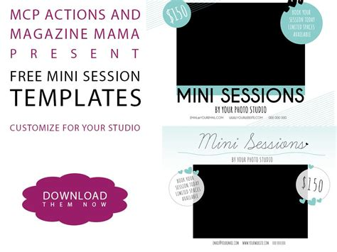 mini session templates a free mini session template for photoshop