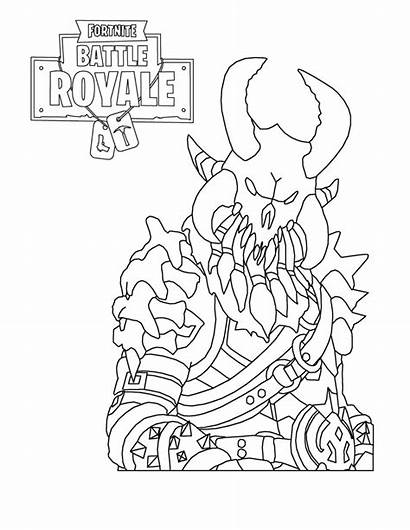 Fortnite Coloring Pages Weapon Legendary Marshmello Frozen