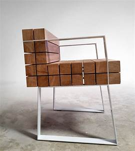 chaiss petit fauteuil par sebastien mazzoni With fauteuil design bois