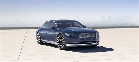 6168 Lincoln Continental Long Wide Sleek Luxurious Classy