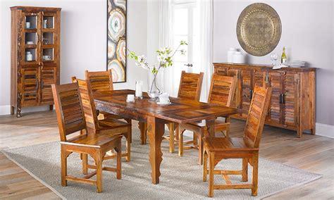 bali handmade  piece dining set  dump luxe furniture