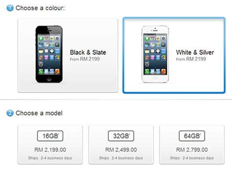 iphone 5 used price iphone 5 price in malaysia apple