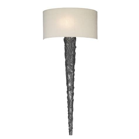 david hunt lighting knurl pewter wall light complete with
