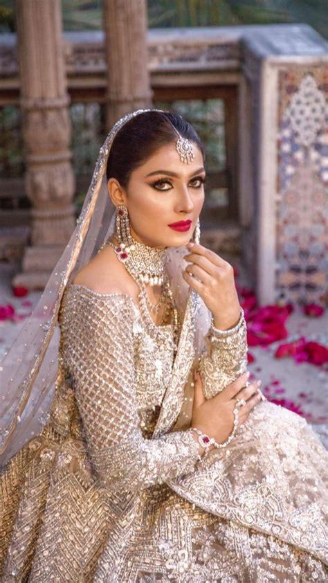 Ayeza Khan looks stunning in Latest Bridal Shoot   Reviewit.pk