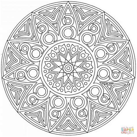 mandalas coloring celtic mandala coloring page free printable coloring pages