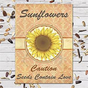 wedding favor seed packets sunflowers and wildflowers With sunflower seed packets wedding favors